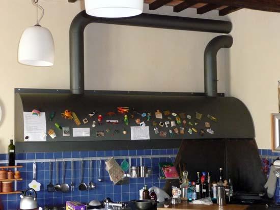 Meccanica marchetti carpenterie metalliche cancelli - Cappa cucina laterale ...